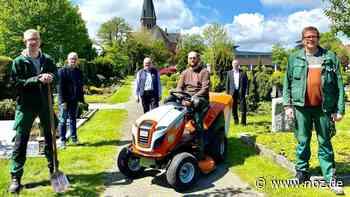 Caritas-Werkstätten übernehmen Friedhofspflege in St. Antonius Papenburg - NOZ