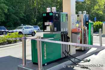 170 liter benzine stroomt weg door defecte pomp in tankstation - Het Nieuwsblad