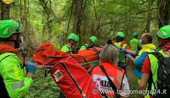 FORLI': Cade durante un'escursione e si ferisce alla gamba, recuperata dal Soccorso Alpino - Teleromagna24