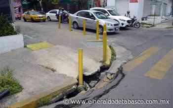 En pedazos principales avenidas de Villahermosa - El Heraldo de Tabasco