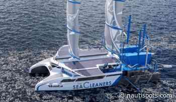 Manta , el velero que limpia de plásticos el mar - NAUTICA TIEMPO WINDGURU - Miguel der