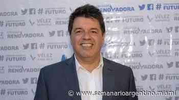Sergio Rapisarda es el nuevo presidente de Vélez Sarsfield — Semanario Argentino - Semanario Argentino de Miami