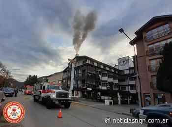Incendio de chimenea en un hotel céntrico de San Martin de los Andes - Noticias NQN