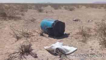 Dejan a un hombre sin vida en un tambo de basura - Omnia