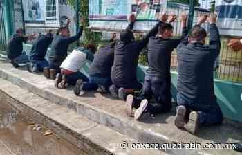 Desarman y detienen a 10 por disturbios en Santa María Xadani - Quadratín Oaxaca