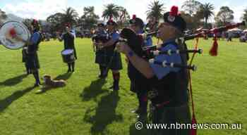 BAGPIPES AND KILTS ON SHOW AT WINGHAM - NBN News