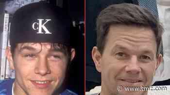 Mark Wahlberg -- Good Genes or Good Docs?! 6/6/2021 - TMZ