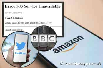 Why is the internet down? Amazon, BBC and Twitter face global outage