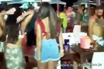 Pandemia: festança em Aracaju - NE Notícias