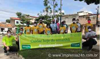 Unimed Sergipe realiza plantio de mudas na Zona Norte de Aracaju - https://www.imprensa24h.com.br/