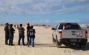 Equipes de fiscalização dispersam banhistas em praias de Aracaju - G1