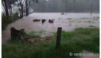 Por inundaciones San Miguel de Sema declara calamidad pública - Caracol Radio