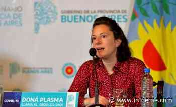 """Leticia Ceriani: """"Pedimos a la gente que se anote para vacunarse"""" - Infoeme"""