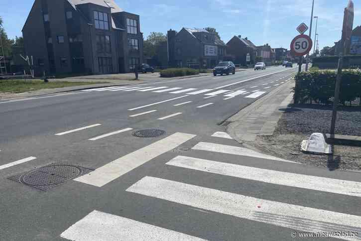 Nieuw zebrapad moet oversteek N403 veiliger maken