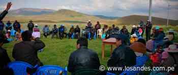 Proyecto de irrigación Huenque-Ilave cerca de lograr financiamiento - Los Andes Perú