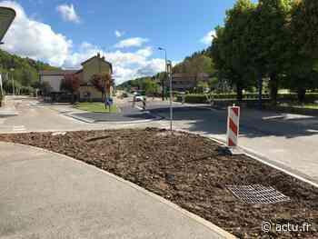 Jura. A Moirans-en-Montagne, le carrefour de l'avenue de Saint-Claude a été aménagé - actu.fr