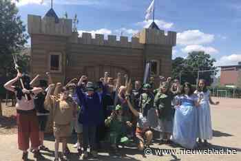 Kinderen zoeken naar de prinses van Oosterwijk