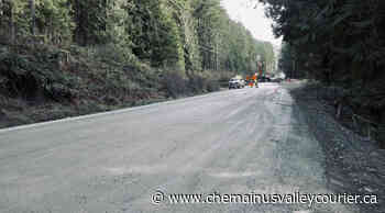 Ongoing Bamfield roadwork unrelated to planned $30M fix – Chemainus Valley Courier - Chemainus Valley Courier