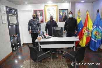 Gobernador inspeccionó rehabilitación de comando policial de Cagua - Diario El Siglo