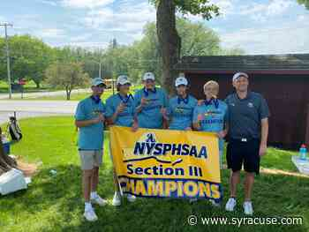F-M Green, Oswego, Waterville win boys golf sectional championships - syracuse.com
