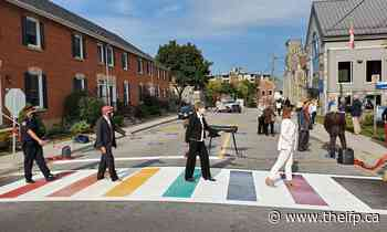 'Diversity and inclusion': Halton Hills is getting a 2nd rainbow crosswalk - theifp.ca