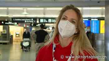 Curling-WM - Applaus am Flughafen: Die Curling-Weltmeisterinnen sind wieder zurück in der Schweiz - ot Oltner Tagblatt