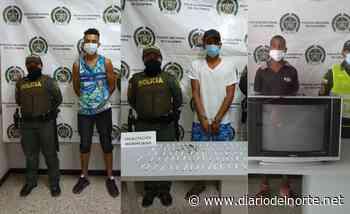 Tres capturados en Riohacha por tráfico de estupefacientes, y hurto - Diario del Norte.net