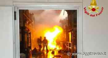 Incendio di Villorba, è stato un incidente - Oggi Treviso