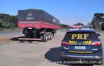 PRF localiza carreta roubada e recupera em Imbituva - Brasil do Trecho - Site dos caminhoneiros