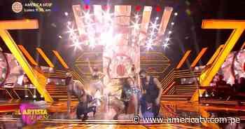 Milett Figueroa lloró tras sufrir fuerte caída en el escenario de El Artista del Año - América Televisión