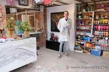 Veel interesse voor open atelier van Robby Smets