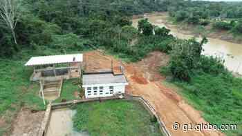 Com risco de desabastecer Rio Branco devido ao deslizamento, governo decreta emergência na ETA II - G1