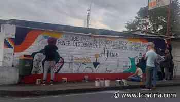 Un mural para reconciliarse en Anserma - La Patria.com