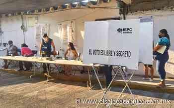Encabeza conteos Morena en ayuntamientos de Coyuca, Acapulco y Chilpancingo - El Sol de Acapulco