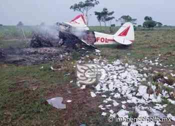 Se cae avioneta en comunidad cerca de Cosamaloapan - Imagen del Golfo