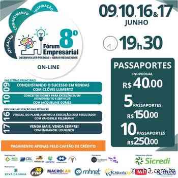 Fórum Empresarial de Maravilha começa na quarta-feira - WH3