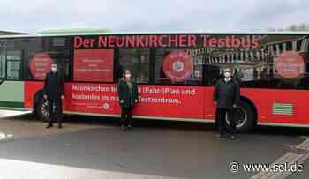 Neunkirchen stellt Angebot von Corona-Testbus ein - sol.de