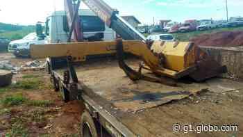 Equipamentos agrícolas furtados são encontrados à venda em ferro velho de Piraju - G1