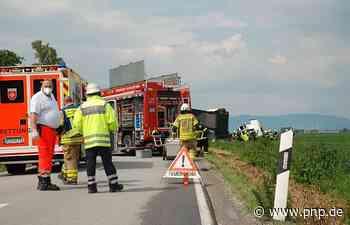 Ein Toter nach Lkw-Unfall im Landkreis Dingolfing-Landau - Dingolfing - Passauer Neue Presse