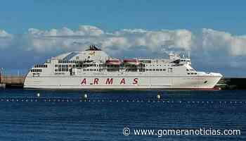 Horario del buque Volcán de Taburiente para la presente semana entre el 7 al 13 de junio - Gomeranoticias