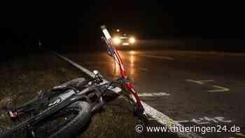 Rudolstadt: Radfahrer liegt bewusstlos auf Straße – massive Gesichtsverletzungen - Thüringen24