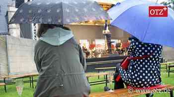 Minikonzert bei Dauerregen zum Saisonauftakt in Rudolstadt - Ostthüringer Zeitung