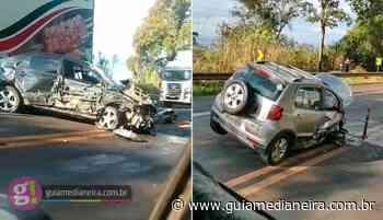 Acidente na BR 277 deixa uma pessoa ferida em Matelândia - Guia Medianeira