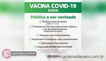 Medianeira: Saiba quem pode receber a vacina contra Covid-19 nesta segunda-feira (07/06) - Guia Medianeira