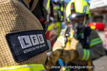 Firefighters called to blaze at Wimbledon home