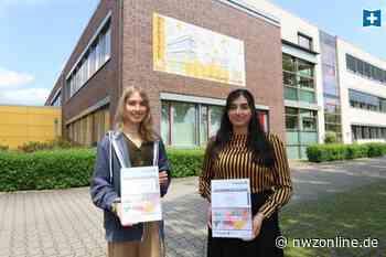 Bildung in Bad Zwischenahn: Banner am Zwischenahner Oberstufengebäude zeigt: Hier sind wir zu Hause - Nordwest-Zeitung