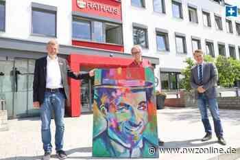 Kunst im Rathaus Bad Zwischenahn: Filmstars werden für guten Zweck verkauft - Nordwest-Zeitung