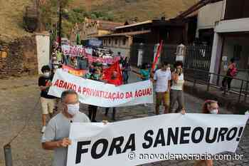 MG: Moradores de Ouro Preto lançam manifesto contra a privatização da - A Nova Democracia