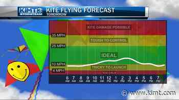 StormTeam 3: Tracking great kite flying weather for Monday! - KIMT 3