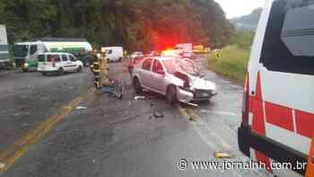 Homem no porta-malas e carro de Novo Hamburgo: o inusitado acidente na RS-122 - Jornal NH